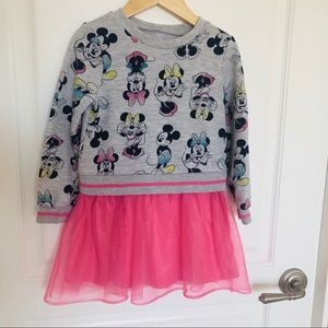 Disney Minnie Dress with tulle skirt